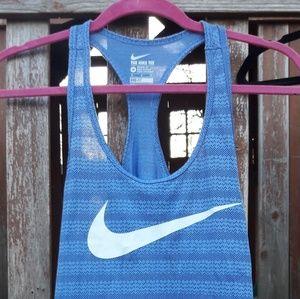 Nike Dri-fit Athletic Cut Tank Size M